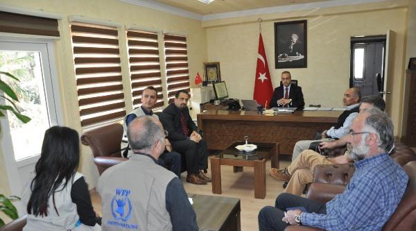 Bm'nin Son İnsani Yardım Tır'ları Da Suriye'ye Geçti