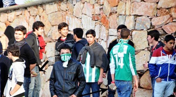 Bodrum'da Amatör Maçta Olay