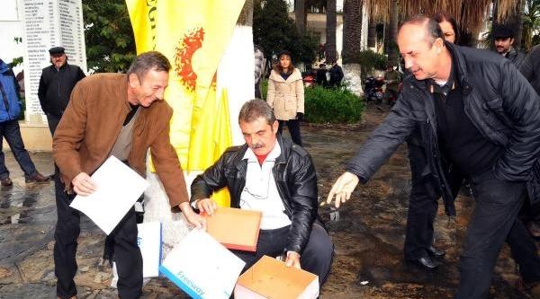 Bodrum'Da Ayakkabi Kutulu Eylem