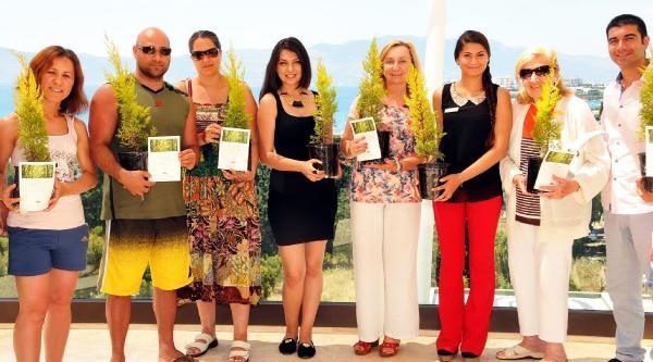 Bodrum'da Bir Otelin 'her Turiste Fidan' Kampanyası