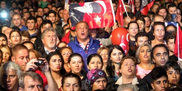Bodrum'da Cumhuriyet Bayrami Coşkusu