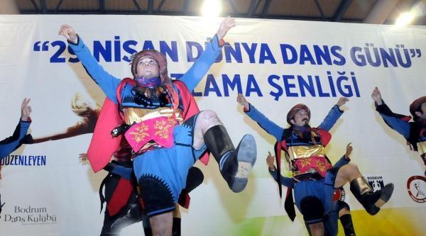 Bodrum'da Dünya Dans Günü Kutlaması