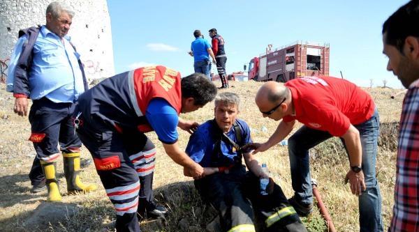 Bodrum'da Korkutan Maki Yangını