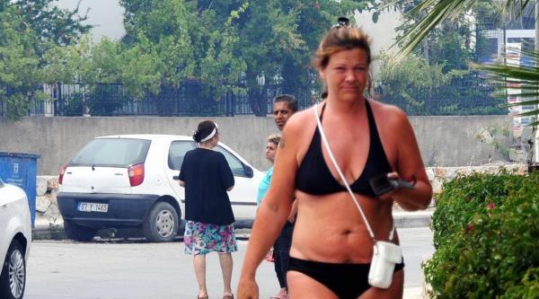 Bodrum'da Otluk Ve Makilik Alanda Yangın Çikti
