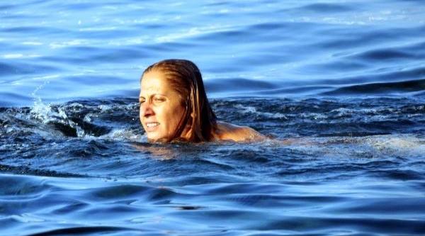 Bodrum'da Sağanak Sonrasi Deniz Keyfi