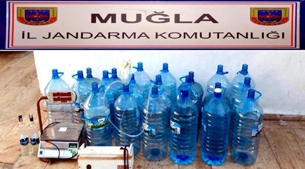Bodrum'da Sahte İçki Ve Kaçak Tütün Operasyonu