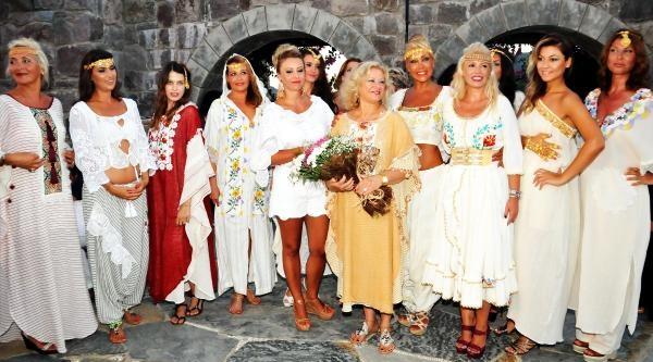 Bodrum'da 'sevginin Renkleri' Defilesi