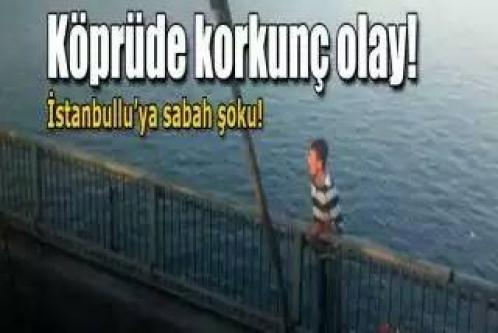 Boğaz Köprüsünde intihar