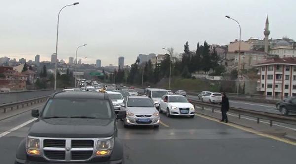 Boğaziçi Köprüsü'nde Cinayet Protestosu: Köprüyü Trafiğe Kapattılar