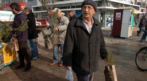 Bolu'da 5 Bin Fidan Dağitildi