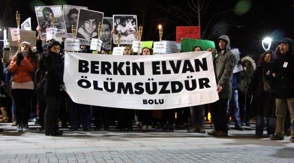 Bolu'da Berkin İçin Protestoda Bulunuldu