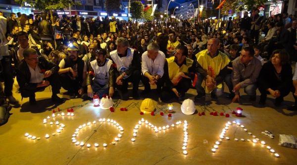 Bolu'da Maden Faciası Protestosu