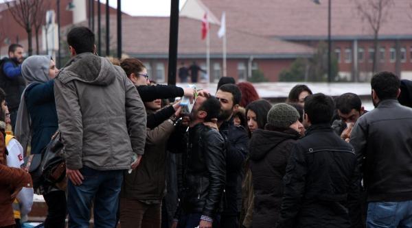 Bolu'da Üniversiteliler Kavga Etti