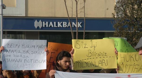 Bolu'da Yolsuzluk Protestosu