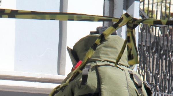 Bomba İhbari Yapılan Çanta, Boş Çikti