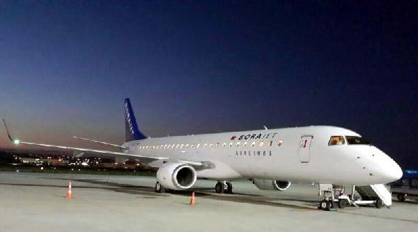 Borajet Yeni Jet Uçağına Kavuştu