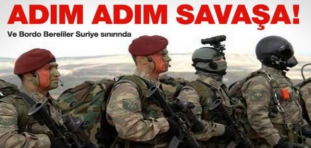 Bordo Bereliler Suriye sınırında!