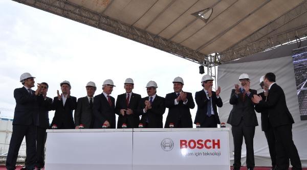 Bosch'un Bursa'daki Yeni Fabrikasının Temeli Atıldı