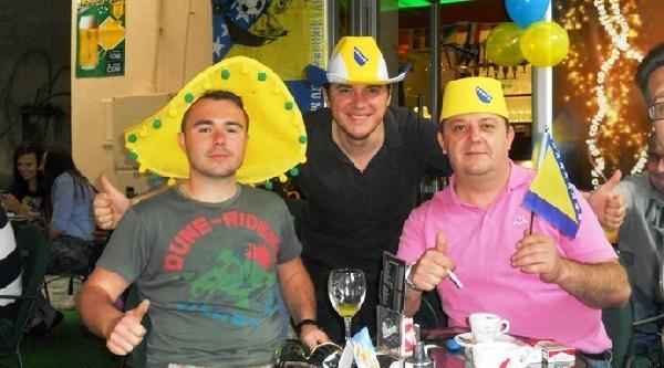 Bosna Hersek-arjantin Maçı Saraybosna'da Büyük Bir Heyecan İle İzlendi