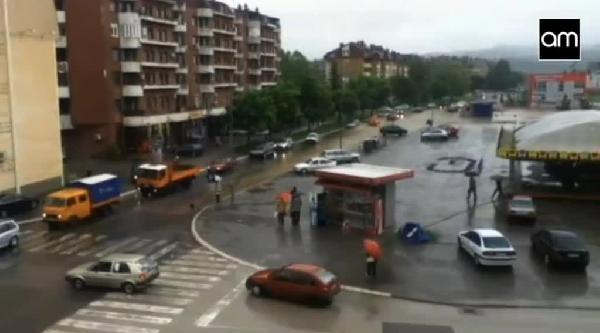 Bosna-hersek'in Doboy Kenti 10 Dakikada Sular İçinde Kaldı