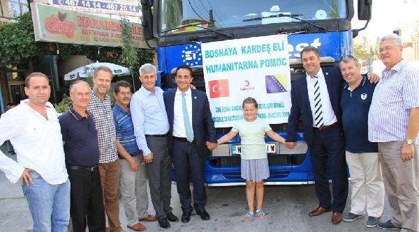 Bosna'ya Üçüncü Yardım Tırı
