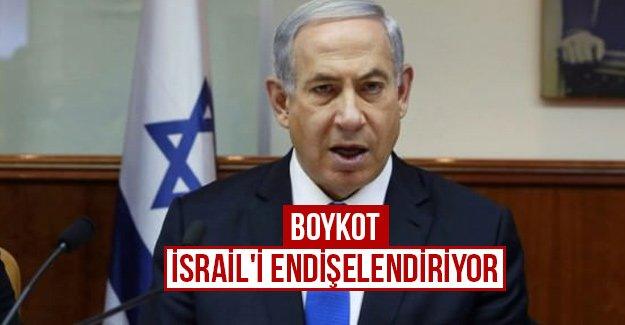 Boykot İsrail'i endişelendiriyor...