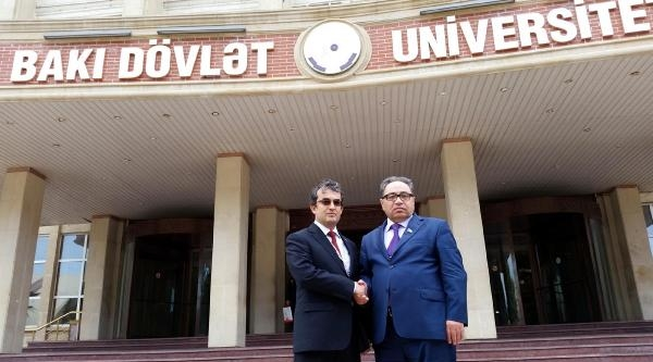 Bozok Ve Bakü Üniversiteleri Arasında İşbirliği