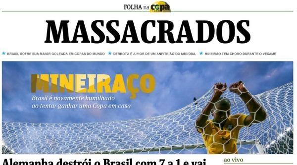 Brezilya Basınında Ağır Yenilginin Yankıları