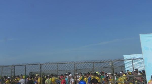 Brezilya Çeyrek Finalde