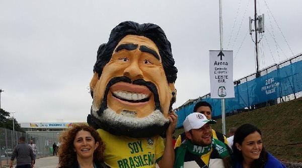 Brezilya'da Dünya Kupası Coşkusu (ek Fotoğraf)