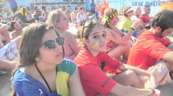 Brezilya'daki Binlerce Taraftar, Almanya-portekiz Maçını Dev Ekranlardan İzledi