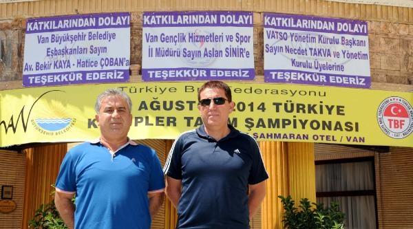 Briç Federasyonu, Türkiye Kulüpler Takım Şampiyonasi'ni Van'da Yapacak