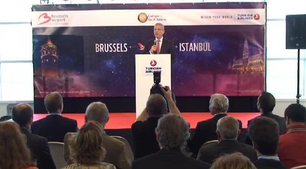 Brüksel'den İstanbul Sabiha Gökçen'e İlk Sefer