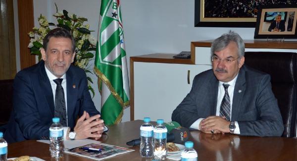 Btso Başkanı Burkay: Bursaspor Kentin En Büyük Lokomotifi