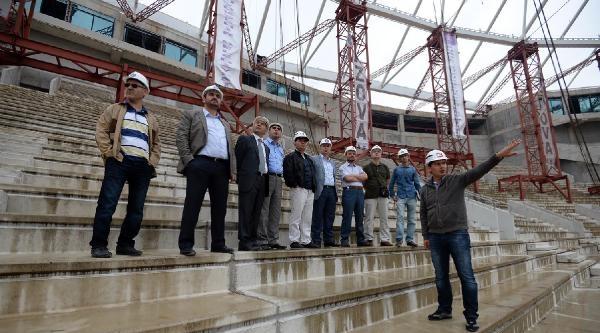 Btso Üyeleri Bursa'nın Yeni Stadyumunu İnceledi