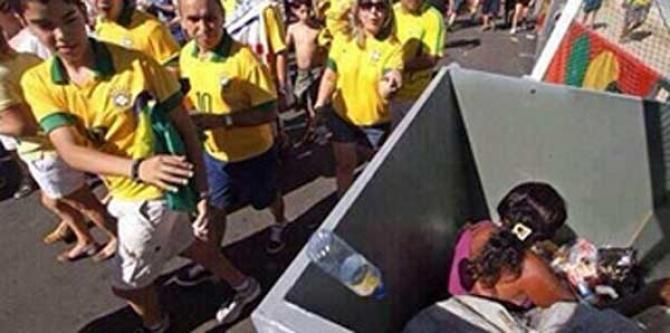 Bu fotoğraf Brezilya'da paylaşım rekorları kırdı...