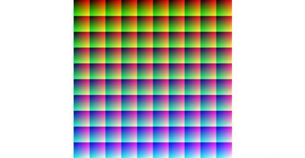 Bu Fotoğrafta Kaç Renk Var?..