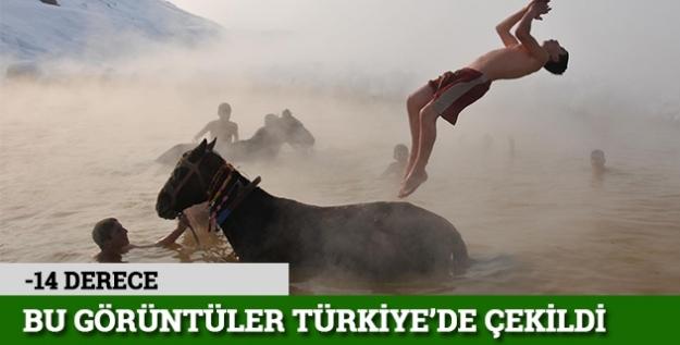 Bu görüntüler Türkiye'de çekildi...