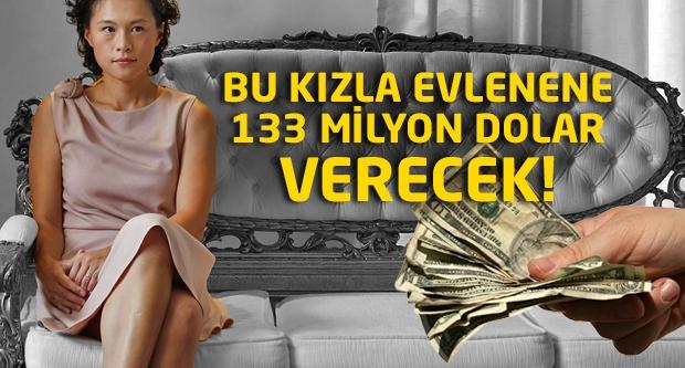 Bu kızla evlenene 133 milyon dolar verecek!
