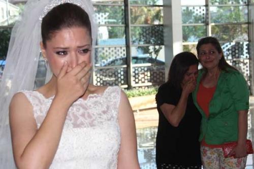 Bu nikahta herkes ağladı!