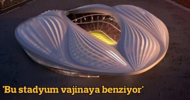 'Bu stadyum vajinaya benziyor' tartışması...