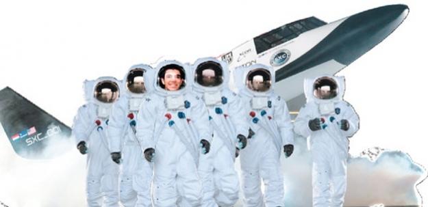 Bu Türk genci uzay yolcusu! Yanına alacağı tek şey...