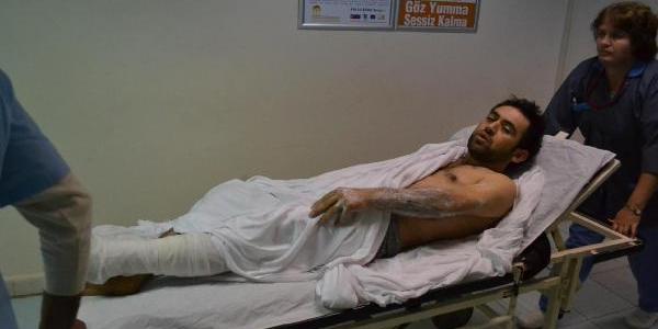 Buhar Kazanindan Taşan Kaynar Su 3 Işçiyi Yaraladi
