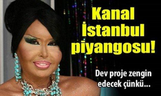 Bülent Ersoy'a Kanal İstanbul piyangosu!
