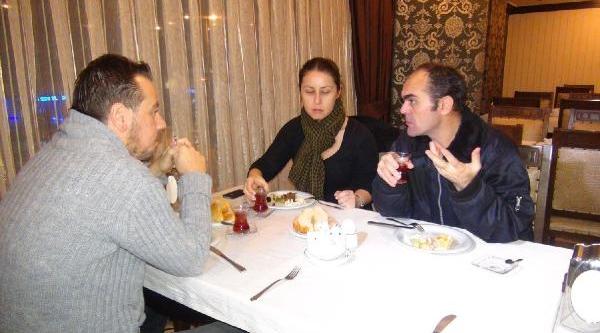 Bünyamin Aygün, Günler Sonra Tiraş Oldu, Ilk Kahvaltisini Yapti