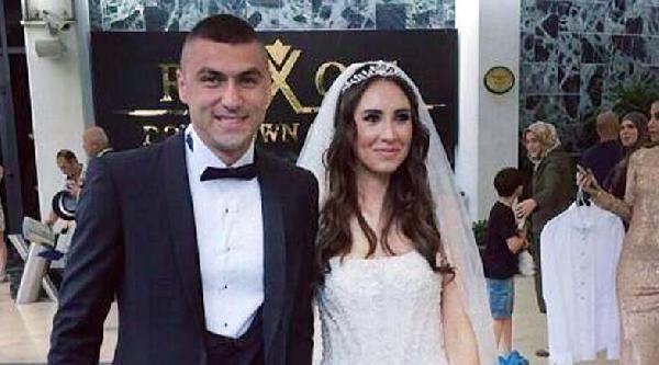 Burak Yılmaz Antalya'da Evlendi (fotoğraflar)