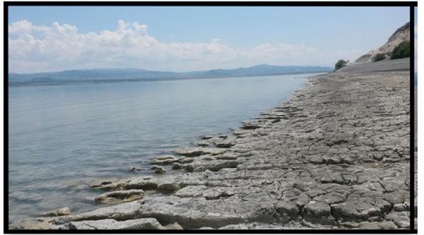 Burdur Gölü'nde Yılda 330 Milyon Ton Su Yok Oluyor
