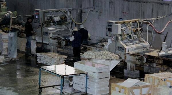 Burdur, Mermer Ihracatinda 300 Milyon Dolara Yaklaşti