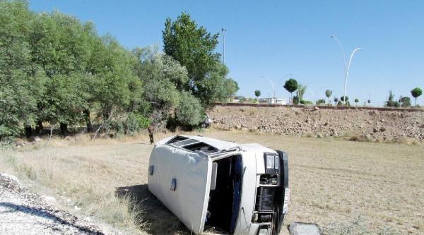 Burdur'da Trafik Kazasında 16 Yaralı