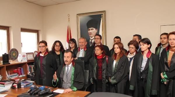 Bursa Barosu'ndan Feyzioğlu'na Destek, Başbakan'a Kınama